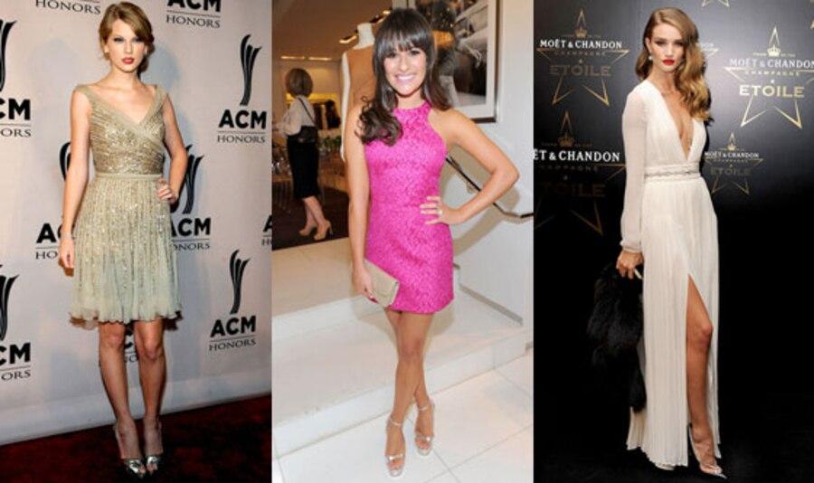 Lea Michele, Rosie Huntington-Whiteley, Taylor Swift