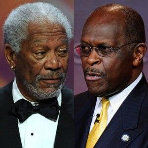 Morgan Freeman, Herman Cain