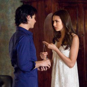 The Vampire Diaries, Nina Dobrev, Ian Somerhalder