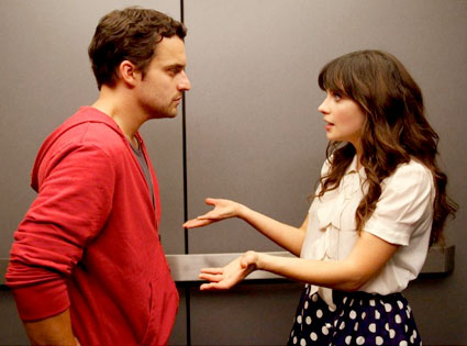 Jake Johnson, Zooey Deschanel, New Girl