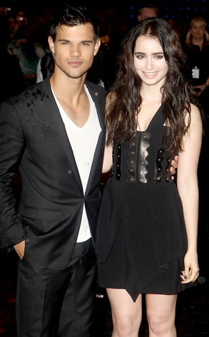 Lily Collins, Taylor Lautner