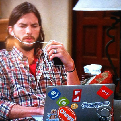 TWO AND A HALF MEN, Ashton Kutcher
