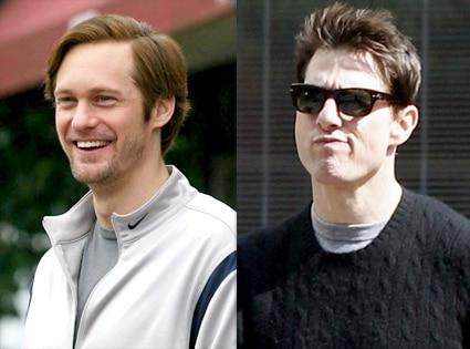 Alexander Skarsgard, Tom Cruise