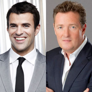 Steve Jones, Piers Morgan