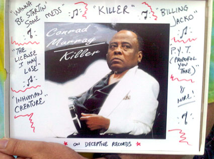 Conrad Murray, Thriller Album