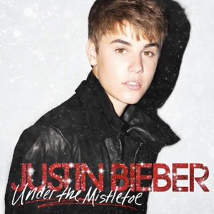 Justin Bieber, Under The Mistletoe, Album Cover