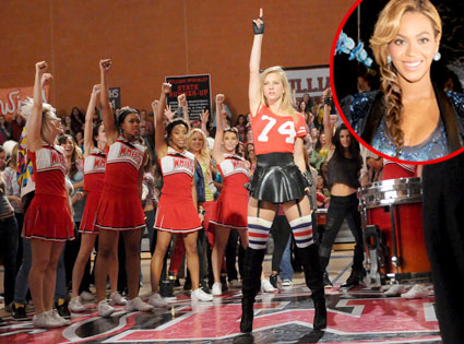 GLEE, Heather Morris, Beyonce