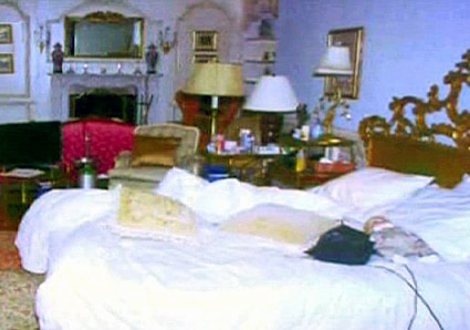 Michael Jackson, Bedroom, Conrad Murray Trial