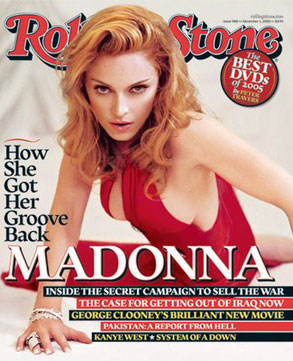 Madonna, Rolling Stone