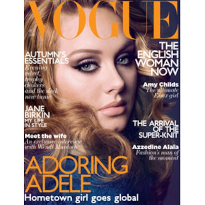 Adele, British Vogue