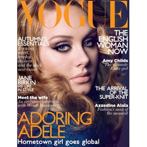 Adele, British Vogue