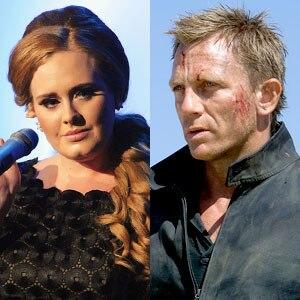 Adele, Daniel Craig