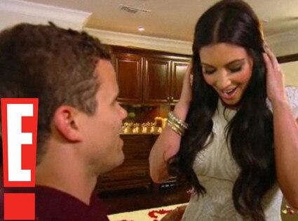 Kim Kardashian, Kris Humphries, Proposal Video