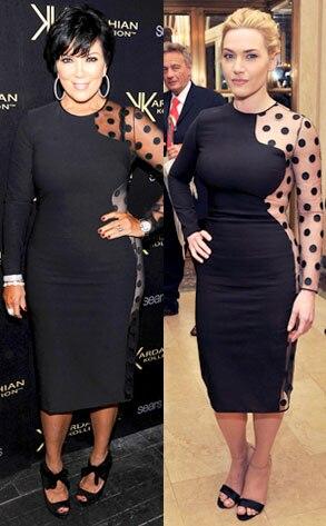 Kris Jenner, Kate Winslet