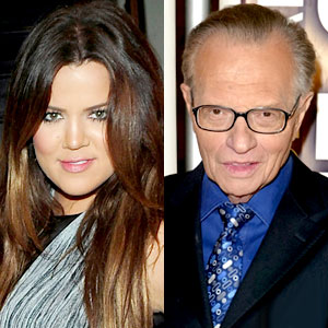 Khloe Kardashian Odom, Larry King