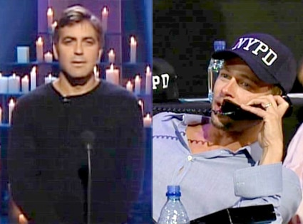 George Clooney, Brad Pitt, Tribute to Heroes