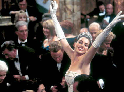 Anne Hathaway, Princess Diaries