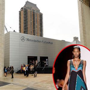 Lincoln Center, BCBG Max Azria  Model