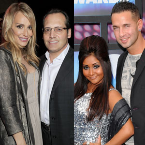 Russell Armstrong, Taylor Armstrong, Nicole Snooki Polizzi, Mike Situation Sorrentino