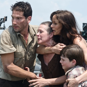 Laurie Holden, Daryl Dixon, Shane Walsh, Jon Bernthal, Melissa Suzanne McBride, Sarah Wayne Callies, Chandler Riggs, The Walking Dead