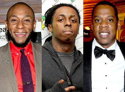 Mos Def, Lil Wayne, Jay-Z