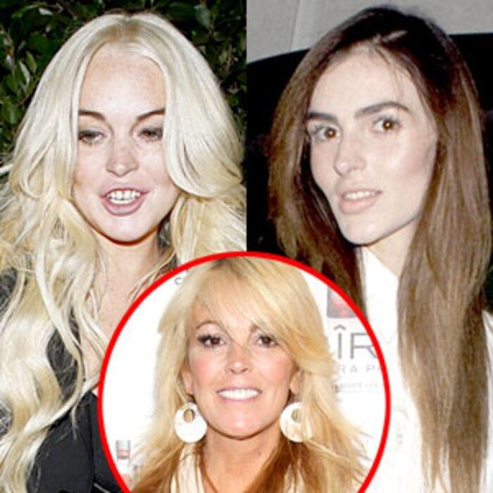 Lindsay Lohan, Ali Lohan, Dina Lohan
