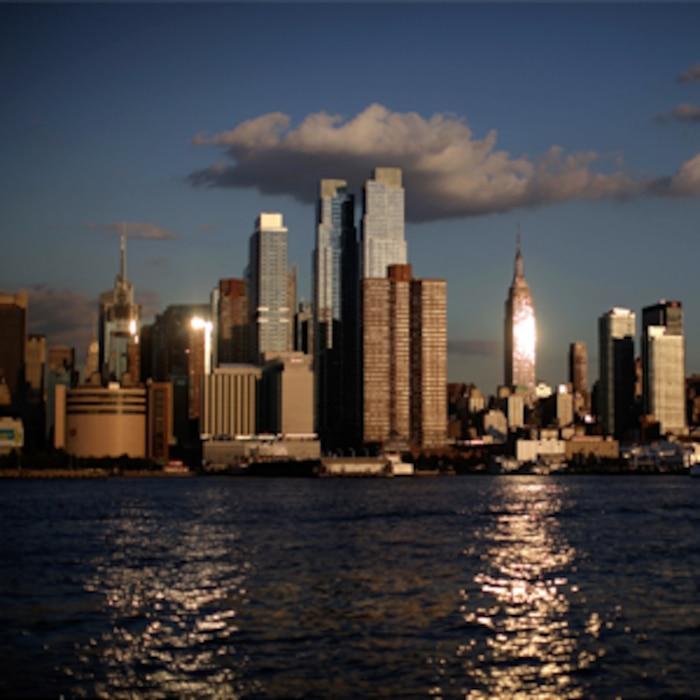 New York Skyline August 2011