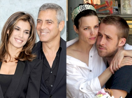 Elisabetta Canalis, George Clooney, Rachel McAdams, Ryan Gosling