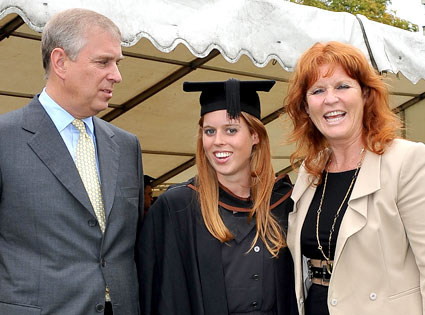 Prince Andrew, The Duke York, Sarah, Duchess of York, Princess Beatrice