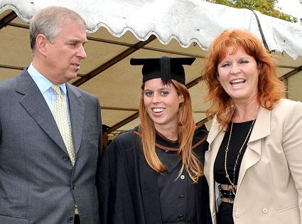 Prince Andrew, The Duke York, Sarah, Duchess of York, Princess Beatrice