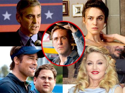 George Clooney, Keira Knightley, Brad Pitt, Madonna, Ryan Gosling, Toronto Film Festival