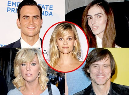 Cheyenne Jackson, Ali Lohan, Kate Gosselin, Jim Carrey, Reese Witherspoon