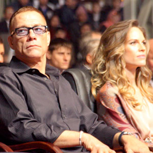 Jean-Claude Van Damme, Hilary Swank