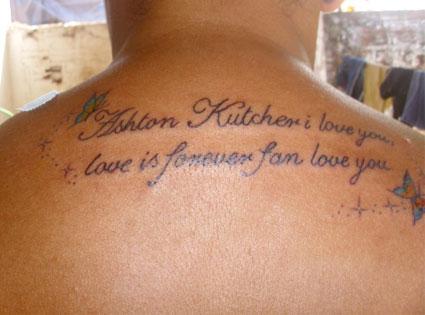 Ashton Kutcher Fan, Twitter