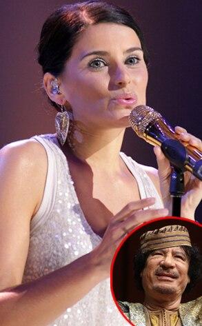 Nelly Furtado, Muammar Gaddafi