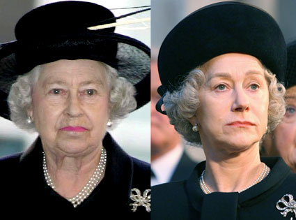 Queen Elizabeth, Helen Mirren, The Queen