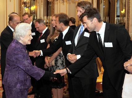Hugh Jackman, Queen Elizabeth II