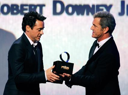 Robert Downey Jr., Mel Gibson