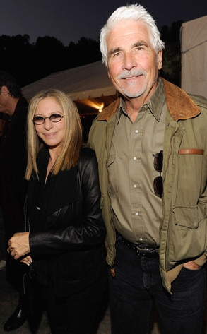 A Decade of Difference Concert, Barbara Streisand, James Brolin