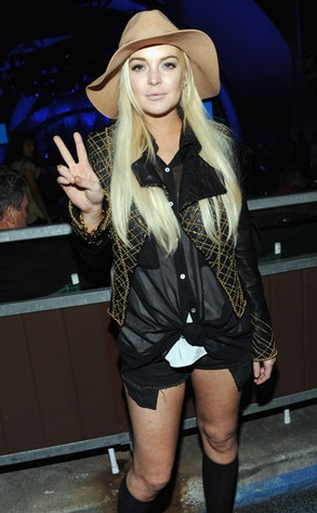 A Decade of Difference Concert, Lindsay Lohan