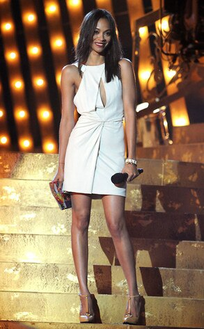 Spike TV's SCREAM Awards, Zoe Saldana