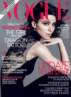 Rooney Mara, Vogue Cover