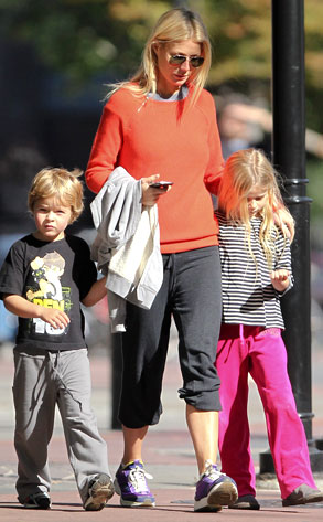 Gwyneth Paltrow, Apple Martin, Moses Martin