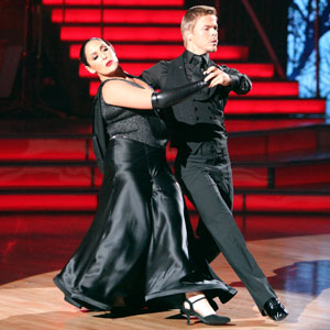 Ricki Lake, Derek Hough, DWTS