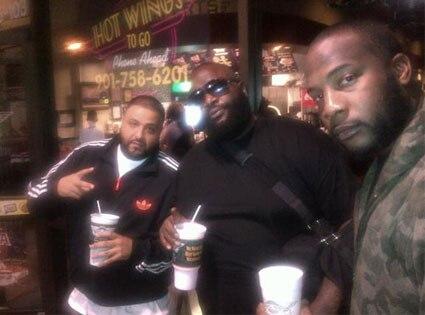 Rick Ross, Gucci Pucci, DJ Khaled, Twitter