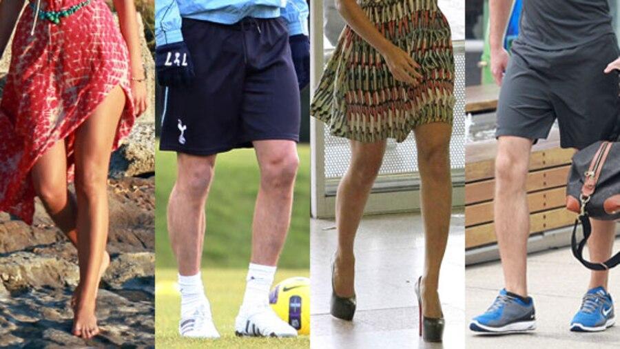 Blake Lively, Beyonce, David Beckham, Alexander Skarsgard