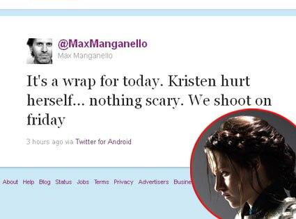 Max Manganello, Kristen Stewart, Twitter