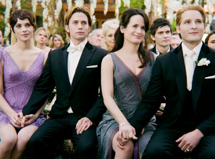 Ashley Greene, Jackson Rathbone, Elizabeth Reaser, Peter Facinelli, Breaking Dawn Part 1