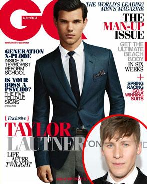 Taylor Lautner, GQ Australia, Dustin Lance Black