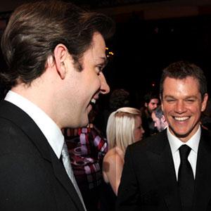 John Krasinski, Matt Damon